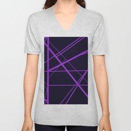 Crossroads - Purple Unisex V-Neck