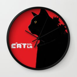Catzilla Wall Clock