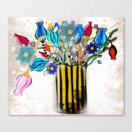 Rupy de Tequila 2019  - Wedding Vase of flowers Canvas Print