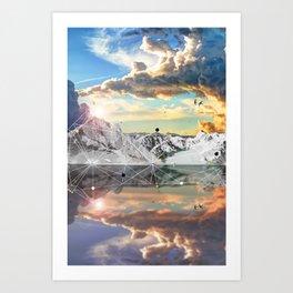 ALPS Art Print