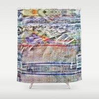 humor Shower Curtains featuring Low tow humor deflector. by Juan Antonio Zamarripa [Esqueda]