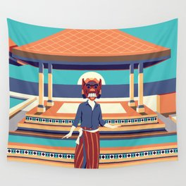 moroccan summer Wall Tapestry