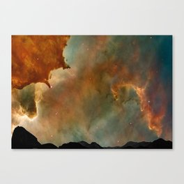 SugarLoaf and the Universe Canvas Print