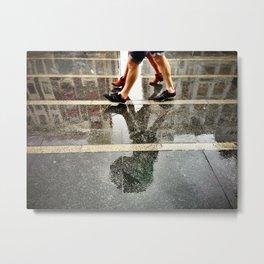 Dirty Rain Metal Print