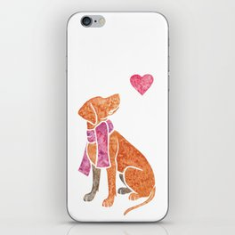 Watercolour Hungarian Vizsla iPhone Skin