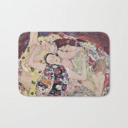 THE VIRGINS - GUSTAV KLIMT Bath Mat