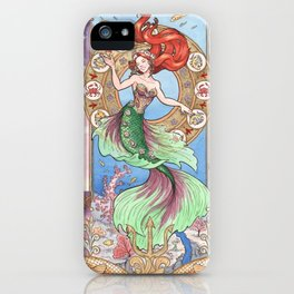 Every Girl Is A Princes 01: Andersen's The Little Mermaid iPhone Case