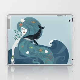 Aquatic Life of a Seaflower Laptop & iPad Skin