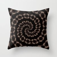 sparkles Throw Pillows featuring sparkles by Deborah Janke
