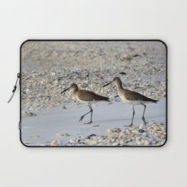 Willets in the Winter Laptop Sleeve