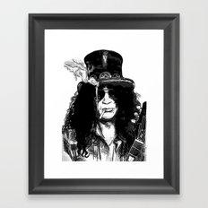 Guitar Hero Framed Art Print