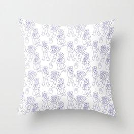 Stanford Pines Pattern Throw Pillow