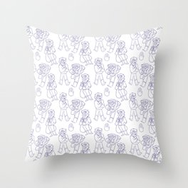 Stanford Pines Pattern Throw Pillow