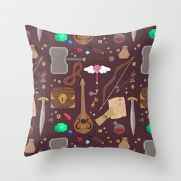 Adventure ho! Throw Pillow