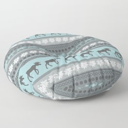 Moose Pattern Floor Pillow