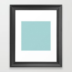U1: just dots Framed Art Print