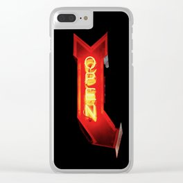 Open Your Heart Clear iPhone Case