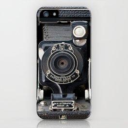 Vintage Autographic Kodak Jr. Camera iPhone Case