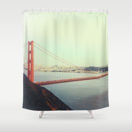GOLDEN GATE BRIDGE - 4 Shower Curtain