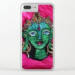 Bodhisattva of Compassion Green Tara Clear iPhone Case