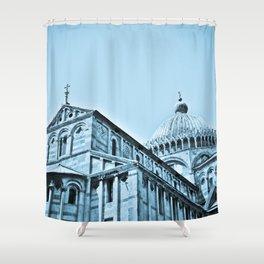 The Piazza dei Miracoli II Shower Curtain