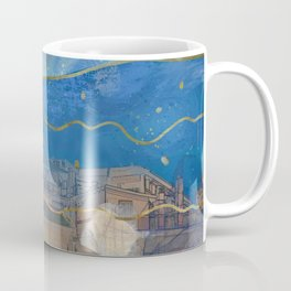 Cities under the Water - Surreal Climate Change Coffee Mug