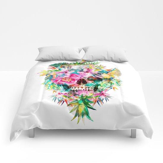 Tropical Skull Comforters