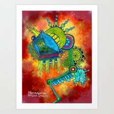 Mechanical MidWar Sprouts Art Print