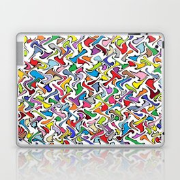 Whimsical Colors Laptop & iPad Skin