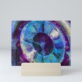 Mantle Clock PhotoArt Mini Art Print