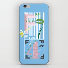 Four Freedoms Barcode iPhone & iPod Skin