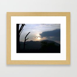 Night Fall Framed Art Print