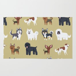 RUSSIAN DOGS Rug