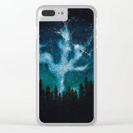 Acrylic Night Sky Clear iPhone Case
