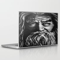 gandalf Laptop & iPad Skins featuring Gandalf by spiderdave7