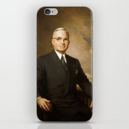 President Harry Truman iPhone Skin