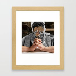 Keep counting thoughts Framed Art Print