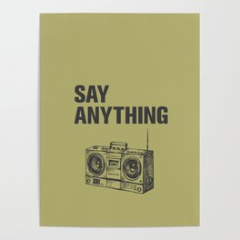 Something to Say Poster