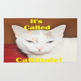 It's Called Cattitude Rug