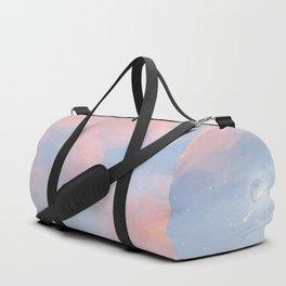 Walking through the clouds Duffle Bag
