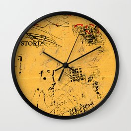 erased 4 Wall Clock