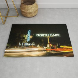 North Park (San Diego) Sign - SD Signs Series #1 Rug
