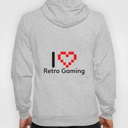 I Love Retro Gaming Hoody