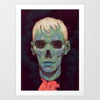 Ghost II Art Print