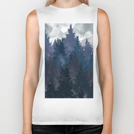 Winter i will never forget you Biker Tank