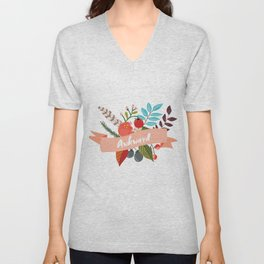 Awkward - Urban Flowers Series Unisex V-Neck