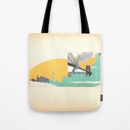 Brooklyn Summer Tote Bag