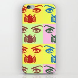 Poisonous Reality - Pop-art iPhone Skin