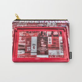 Arsenal FC Emirates Stadium Programme Booth Carry-All Pouch
