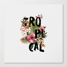 Tropical I Canvas Print